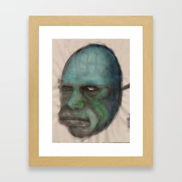 Golem Framed Art Print