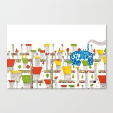 The Selfish Giant - The City Canvas Print
