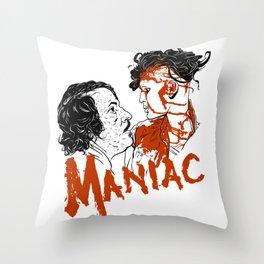 Maniac 1980 Throw Pillow