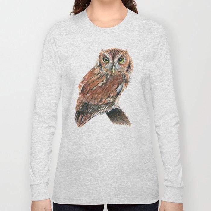 Screech Owl Long Sleeve T-shirt