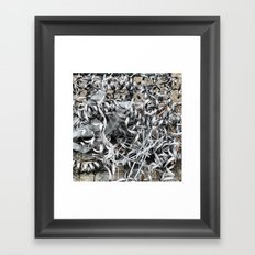 COILS Framed Art Print