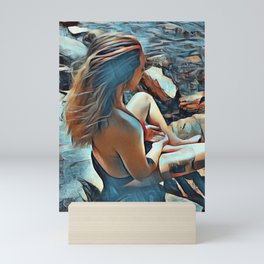 Sara Mini Art Print