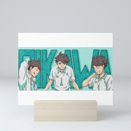Haikyuu!! Oikawa Mug Design Mini Art Print