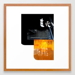 ROUGHCut#10292015 Framed Art Print