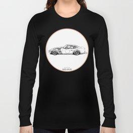 Crazy Car Art 0001 Long Sleeve T-shirt