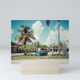 Vintage Motel Mini Art Print