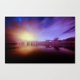 Reflecting Colors Canvas Print