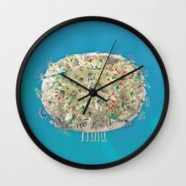 Poofy Dirtsprinkle Wall Clock