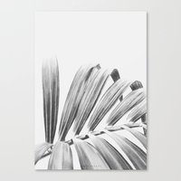 palm Canvas Prints featuring PALM by Lucie Birant