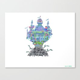 walden...walmart can't touch it, you know? there'd be hell, as it were Canvas Print