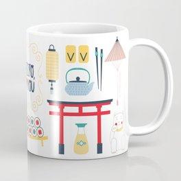 Tokyo, I Love You Coffee Mug