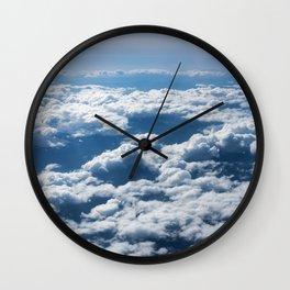 Flying Over California Wall Clock