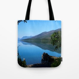 Lake McDonald Impression Tote Bag