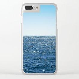 Ocean Horizon I Clear iPhone Case