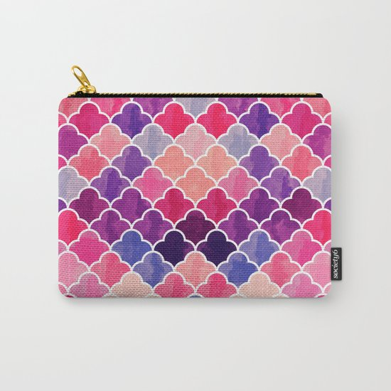 Watercolor Lovely Pattern VVXII Carry-All Pouch