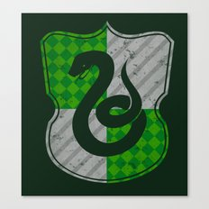 Slytherin House Canvas Print