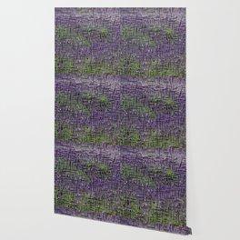 Lavender Hues Abstract Wallpaper