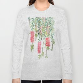bottle brush tree flower Long Sleeve T-shirt