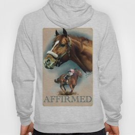 Affirmed with Name Plate Hoody