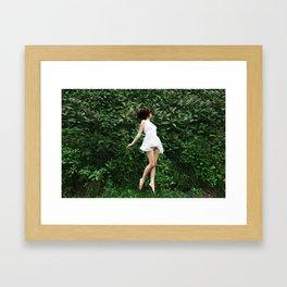 Greenscape Framed Art Print