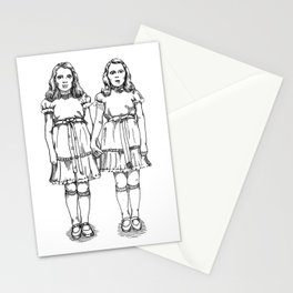 The Twins Stationery Cards