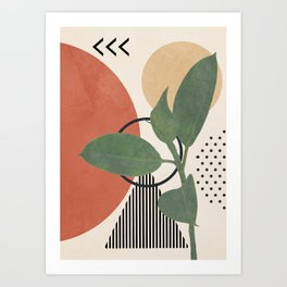 Nature Geometry III Art Print