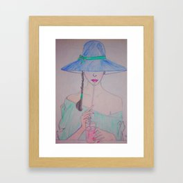 Kissable #Society6 #buyart #decor Framed Art Print
