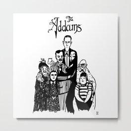 Addams Family Metal Print