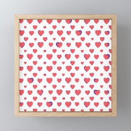Made for you my heart 26 Framed Mini Art Print
