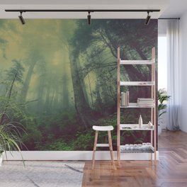 Forest and Fog 01 Wall Mural