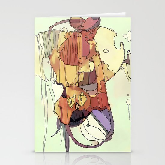 Confusion. Stationery Cards