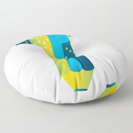 Draw The Future Floor Pillow