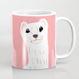 Naughty Stoat ( Mustela erminea) Coffee Mug