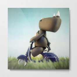 Sunday Ride Metal Print