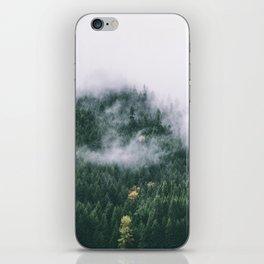 Forest Fog XVII iPhone Skin