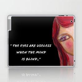 The eyes are useless Laptop & iPad Skin