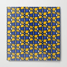 Rounded cube Metal Print