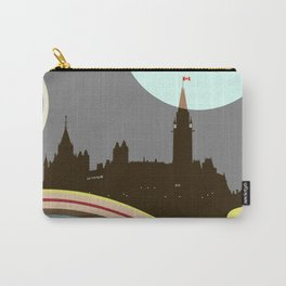 Ottawa Parliament Building Carry-All Pouch