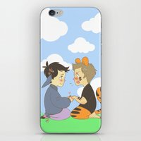 destiel iPhone & iPod Skins featuring WTP! Destiel by psych0tastic