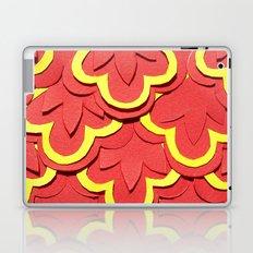 Red Shells Papercut Laptop & iPad Skin