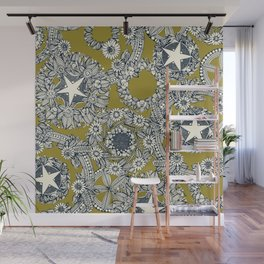 cirque fleur jalapeno Wall Mural