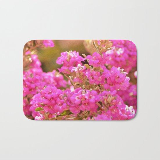 Pretty Pink Petals Bath Mat