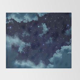 Night Sky Throw Blanket