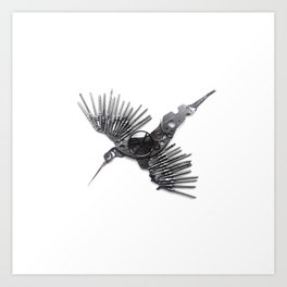 Rad's Birds Art Print