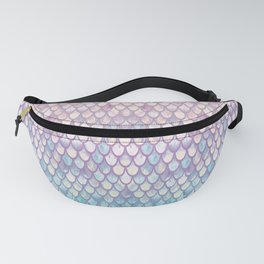 Spring Mermaid Scales Fanny Pack