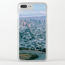 San Francisco Overlook Clear iPhone Case