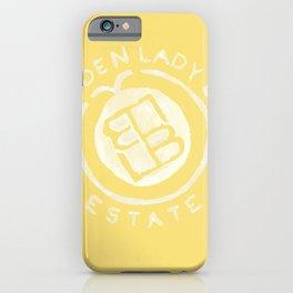 Golden Lady Bug Estate iPhone Case
