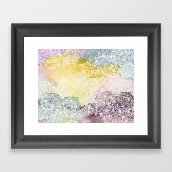 Dreaming in Lotus  Framed Art Print