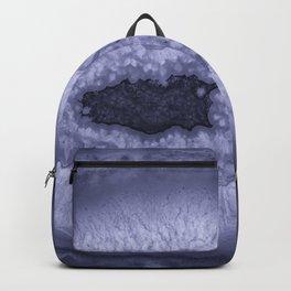 Lavender Geode Backpack