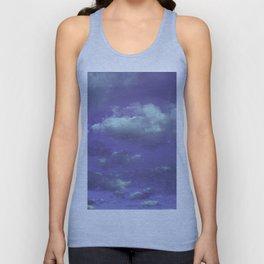 Purple Cloudy Sky Unisex Tank Top